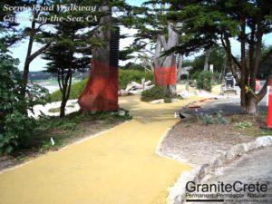 GraniteCrete Pathway Carmel Scenic Road