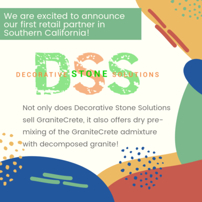 Decorative Stone Solutions is a new retail partner in southern California.