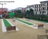 Permeable Pavement Paving GraniteCrete Hanover Cannery Park