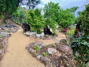 GraniteCrete permeable paving pathway in Corte Madera
