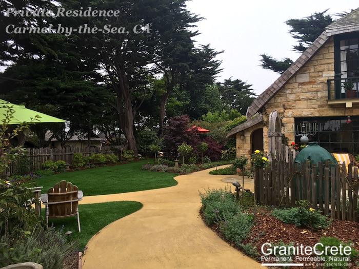 GraniteCrete Permeable Pathway Carmel