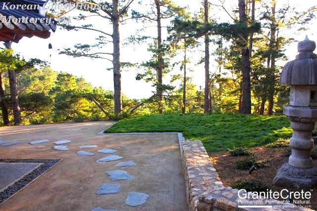 Monterey Permeable Patio GraniteCrete