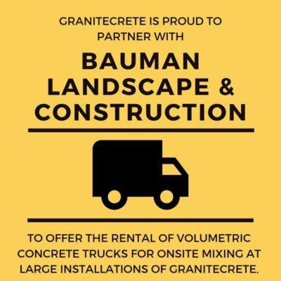 Bauman Landscape and Construction graphic