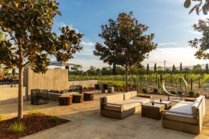 Clos du Val Outdoor Seating with GraniteCrete permeable paving