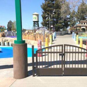 The entrance to Mia's Playground.