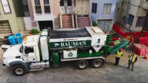 Bauman Landscape Volumetric Truck