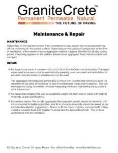 GraniteCrete_Maintenance_Repair